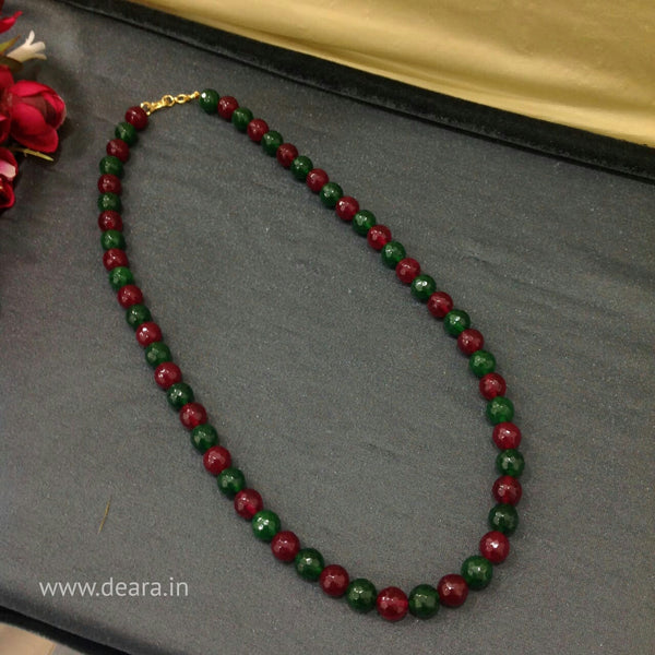 Luscious Red & Green Necklace