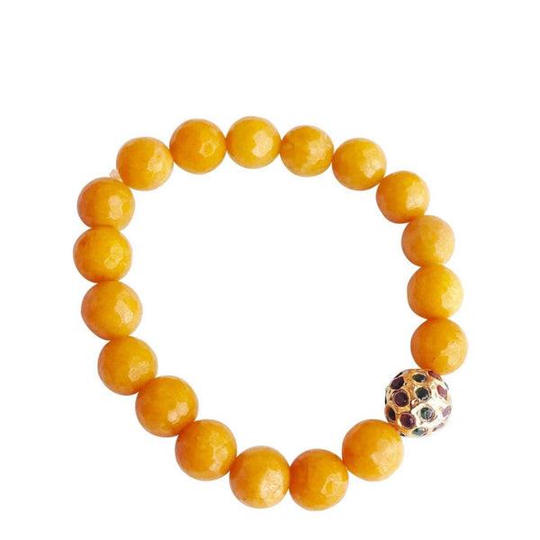 Fire Yellow Bracelet