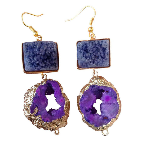 Violet Hocus-Pocus Earrings