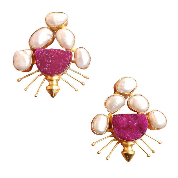 Pearl Intrigue Earrings