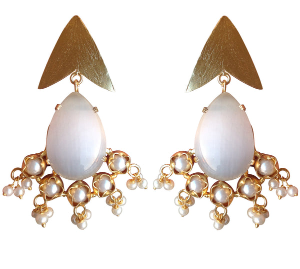 Golden Arrow Earring [product_color]- Deara Fashion Accessories