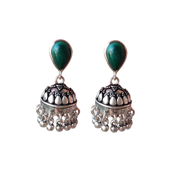 Silver Chandeliers Earrings