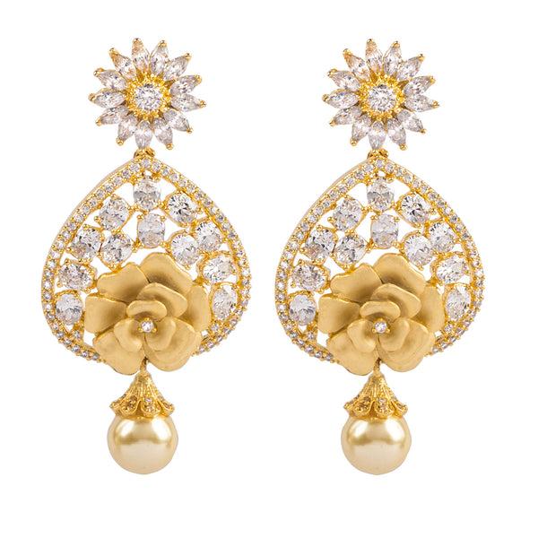Nature in Full Glory Chandbali Earrings