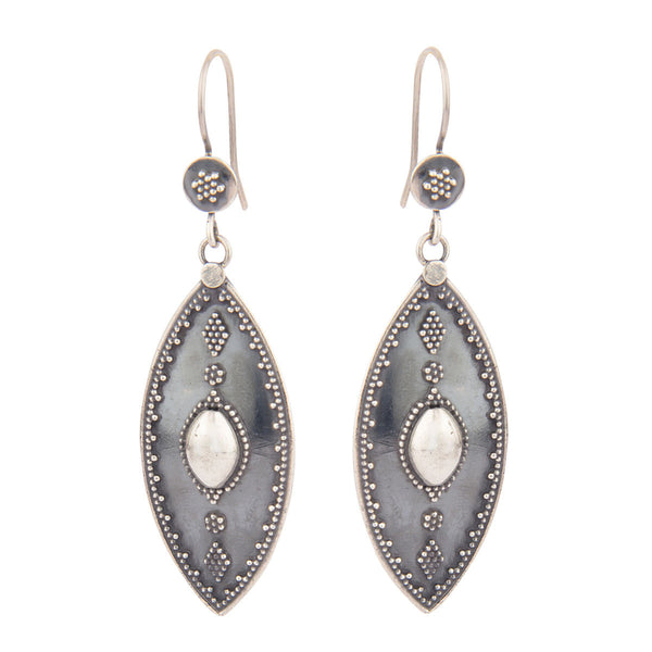 Silver Dangler Earrings