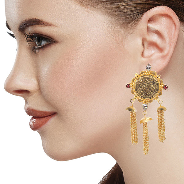Golden Charm Earrings