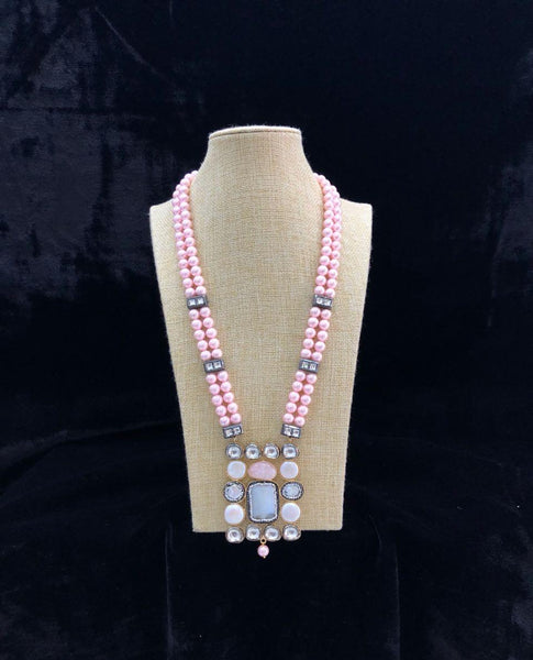 Blossom Pink and White Necklace