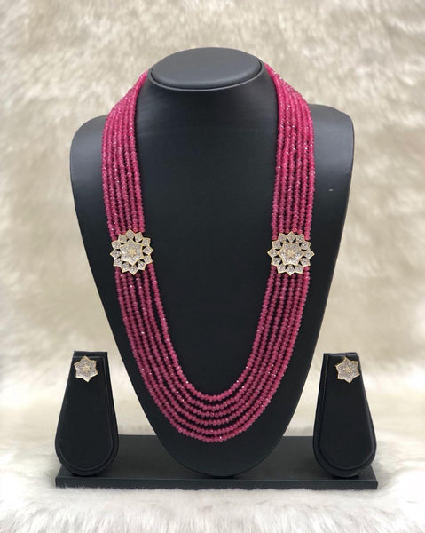 Luscious Pink Necklace Set