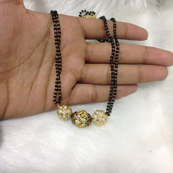Pearls Beaded Mangalsutra Necklace