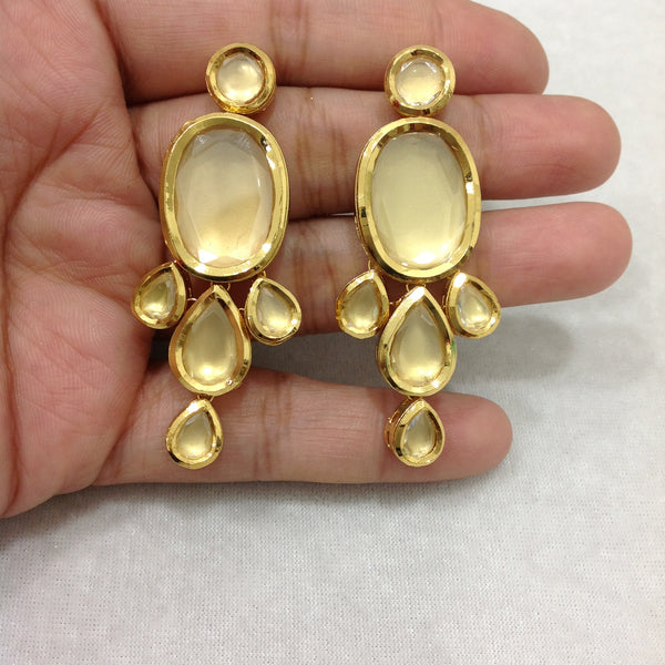 Gorgeous Gold Kundan Earrings