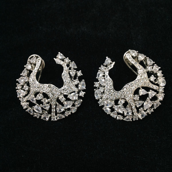 Enthralling Crystal Studded Earrings