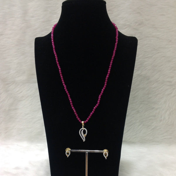Pious Pink Chic Necklace Set