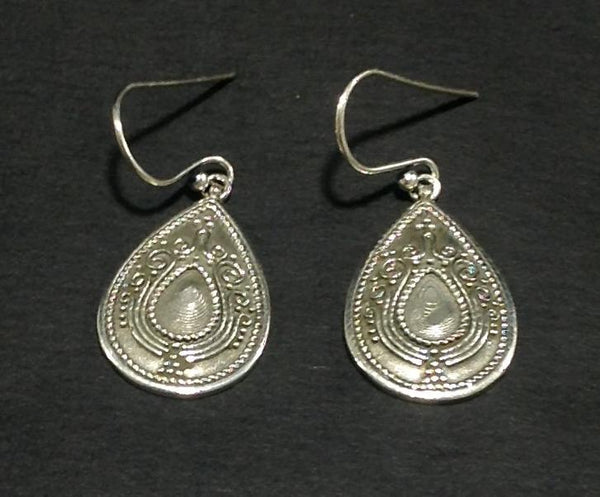Small Silver Dangler Earrings