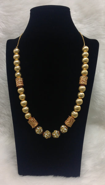 Nature Lured Golden Allure Necklace