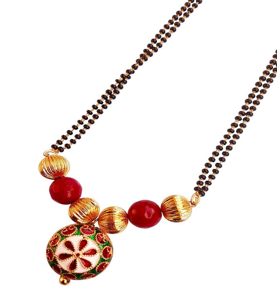 Glam Delight Mangalsutra Mangalsutra [product_color]- Deara Fashion Accessories