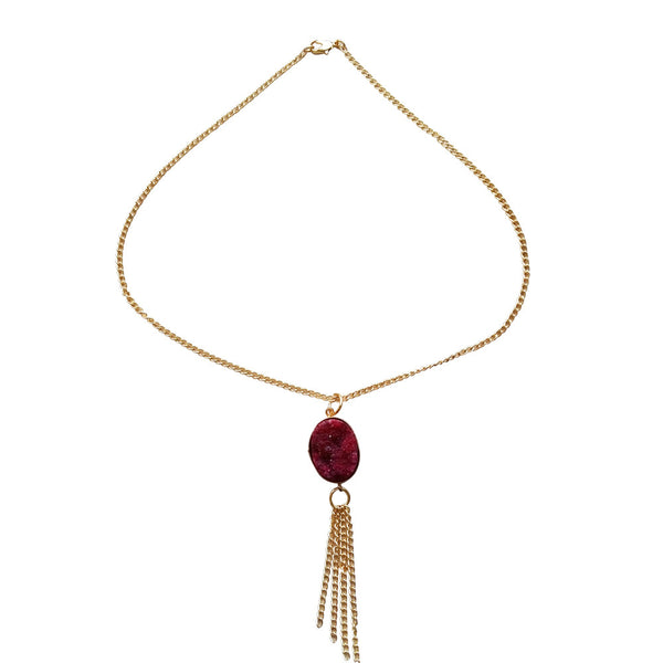 Cocktail wine Necklace Necklace [product_color]- Deara Fashion Accessories