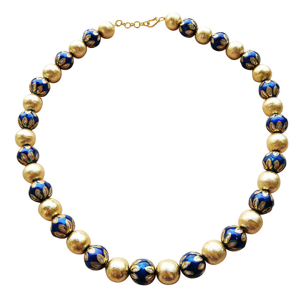 Egyptian Glory in Blue Necklace [product_color]- Deara Fashion Accessories