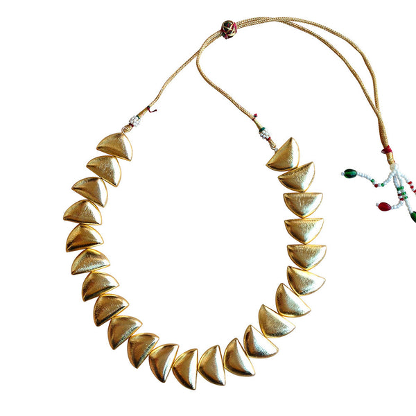 D Golden Choker Necklace [product_color]- Deara Fashion Accessories