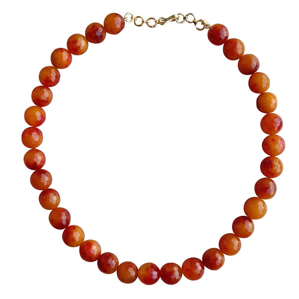 Tangerine Twist Necklace