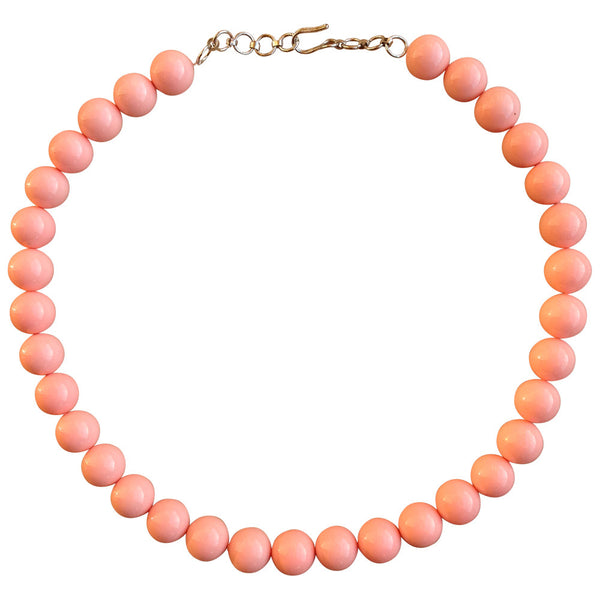 Peach Candy Necklace