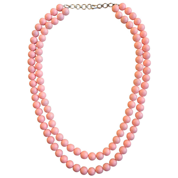 Sombre in Pinkish Peach Necklace