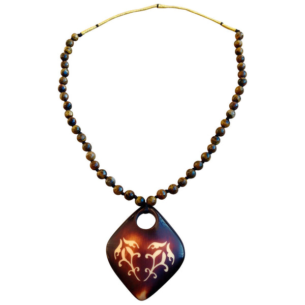 Dancing Flames Necklace [product_color]- Deara Fashion Accessories