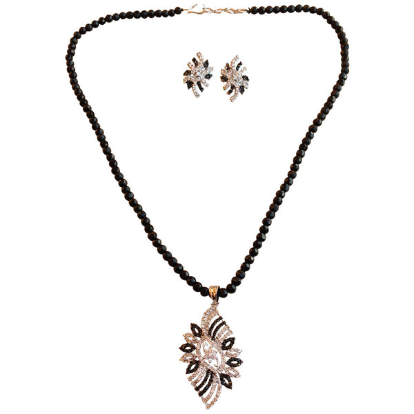 Black Sparkles Necklace [product_color]- Deara Fashion Accessories