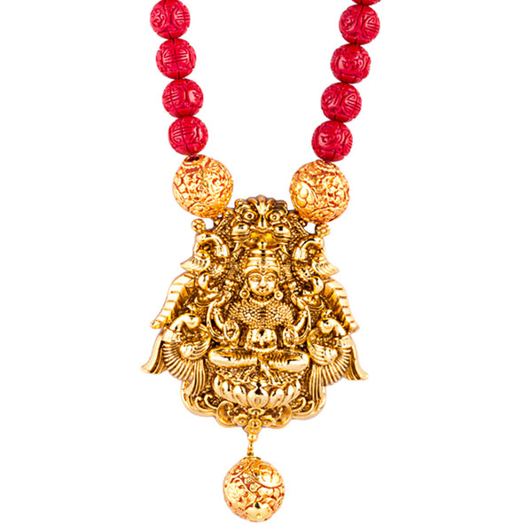 Red Temple Lore Necklace
