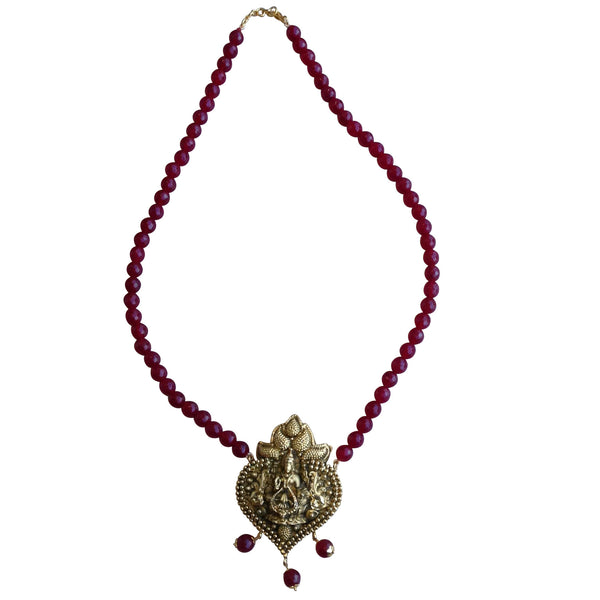Magical Maroon Necklace [product_color]- Deara Fashion Accessories