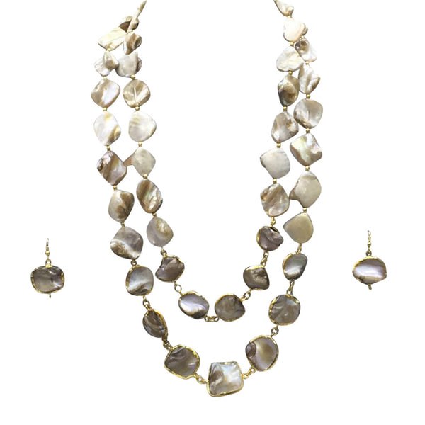 Shades of Royal Grey Necklace