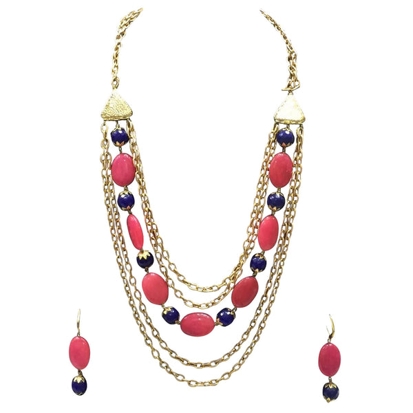 Golden Diva Necklace Necklace [product_color]- Deara Fashion Accessories