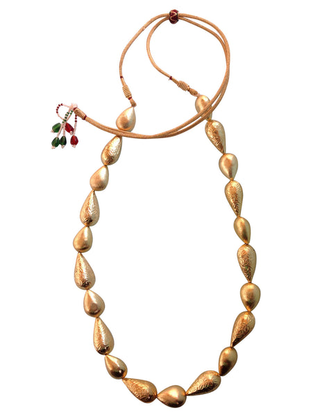 Golden Dewdrops Necklace Necklace [product_color]- Deara Fashion Accessories