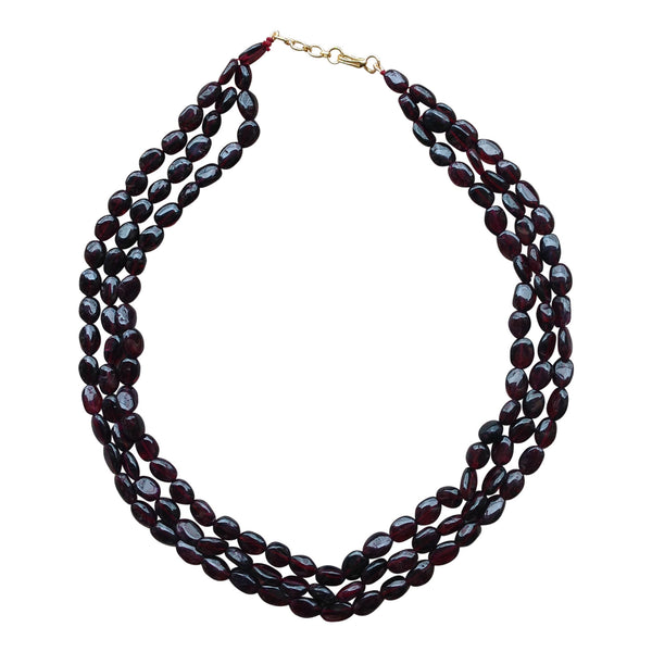 Gracious Garnet Necklace Necklace [product_color]- Deara Fashion Accessories