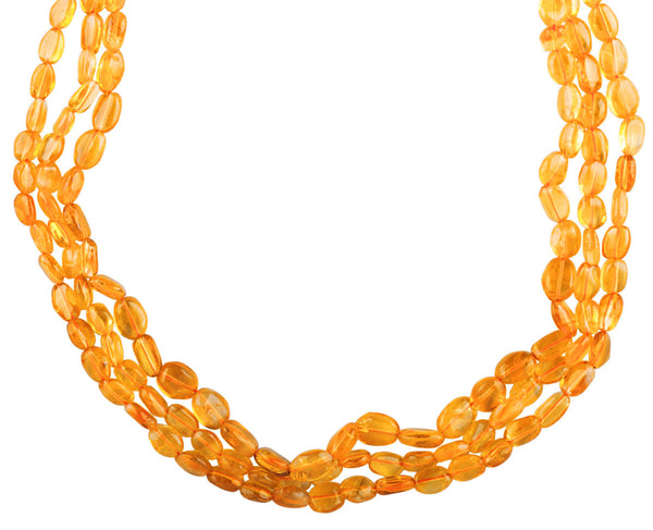 Gracious Citrine Necklace