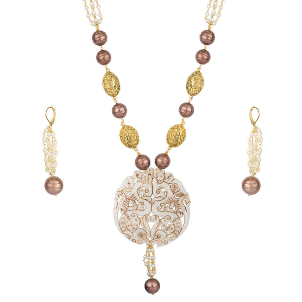 Mughal Queen Agate Necklace Set