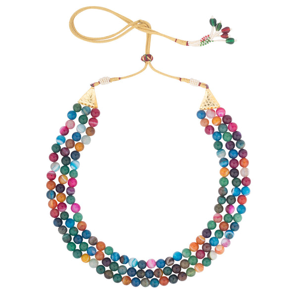 Multi-color Multi-layer Necklace