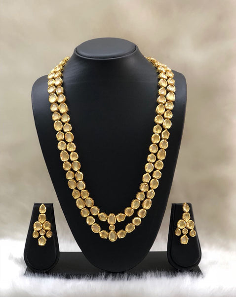 Radiant Kundan Bonded Necklace Set