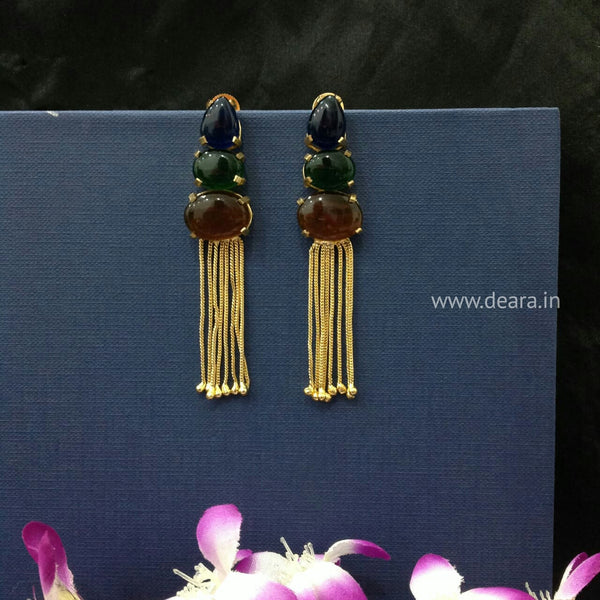 Earthy Enchantress Long Earrings