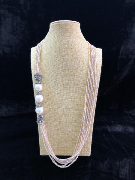 Sea of Sand & Pearls Necklace