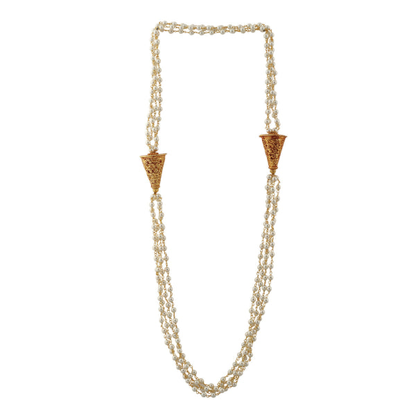Temple Pearl Ethnic Desire Necklace