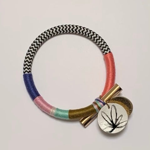 Out With A Bang Bangle - Hibiscus