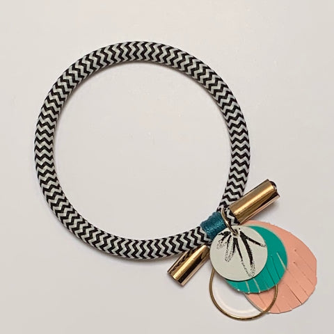 Out With A Bang Bangle - Peony