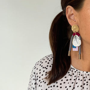 Ring My Bell Earrings - Dahlia