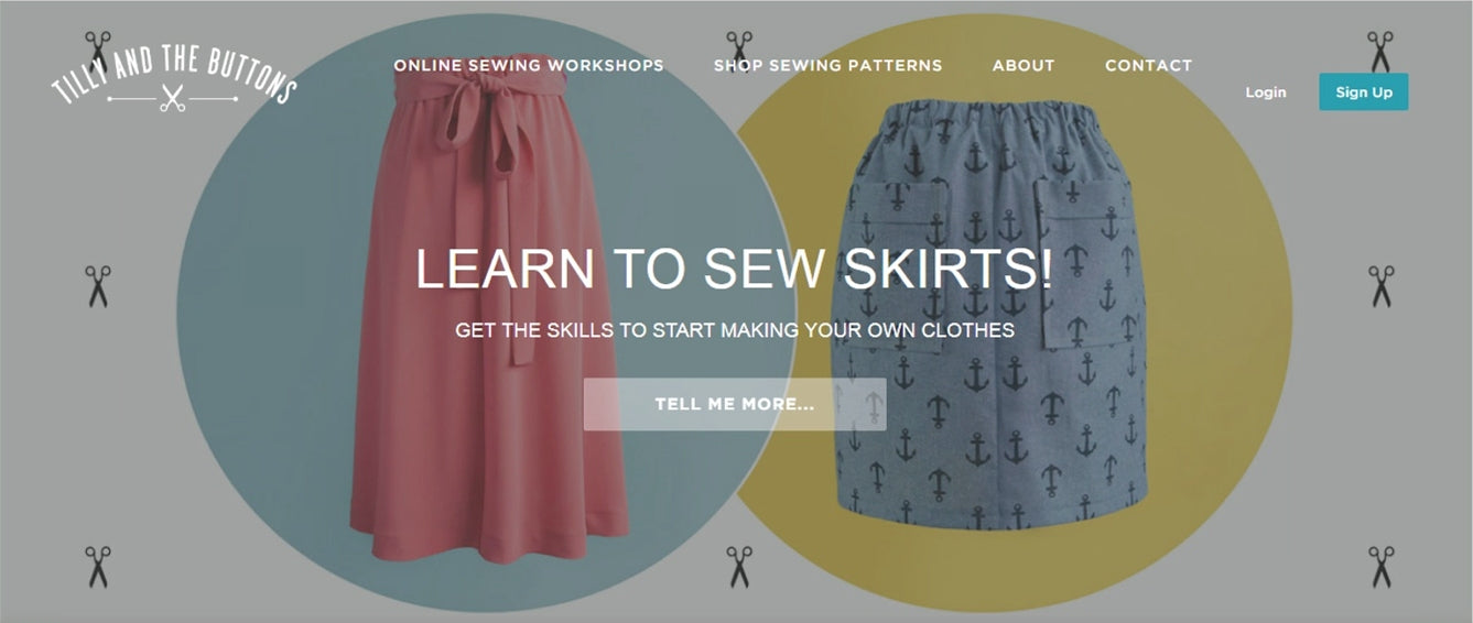 Level 1: Learn to Sew – the splendid stitch