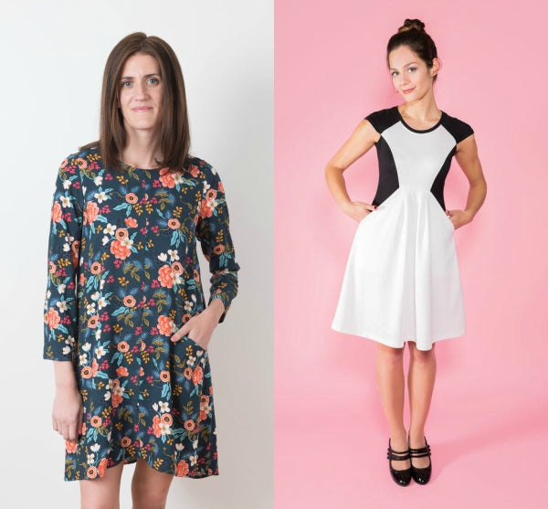 15e3bc4fc8 Grainline Studio's Farrow Dress; Tilly and the Buttons Zadie Dress
