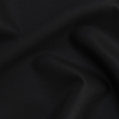Dorothea Black Wool Suiting - Only 1.25 m Left!