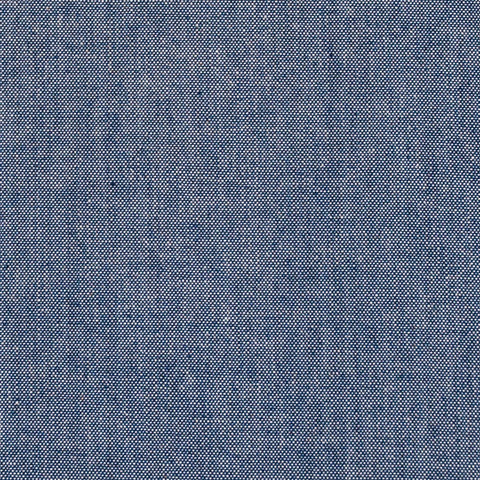 Sample of Robert Kaufman Medium-Weight Indigo Chambray