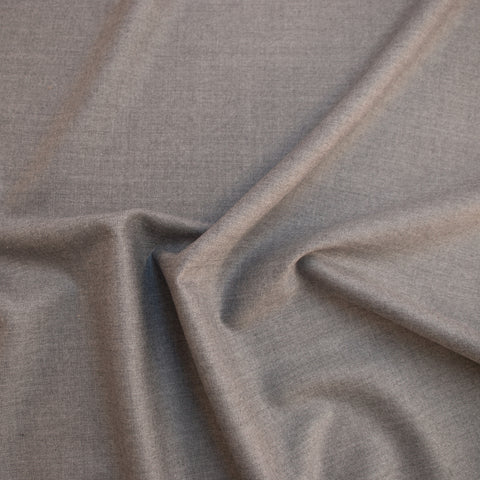 Dorothea Light Grey Wool Suiting