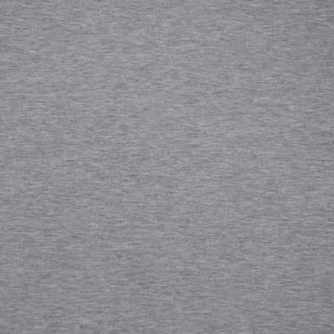 Sample of Serena Light Grey Marl French Terry