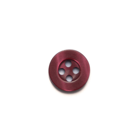 11mm Burgundy Shirt Buttons
