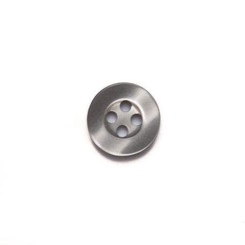 11mm Grey Shirt Buttons